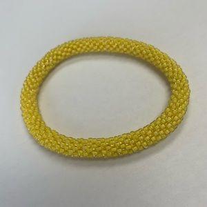 Sashaka Co Yellow bracelet